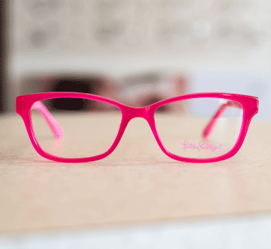 Lilly Pulitzer Glasses Pink