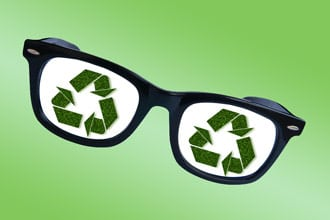 To celebrate Earth Day, don't discard your old eyewear ...