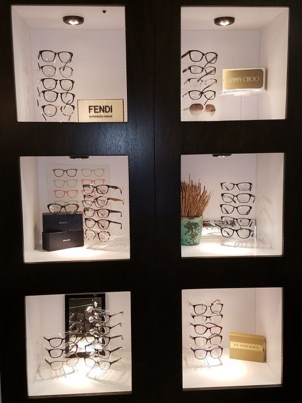 Eye Glass Display Case